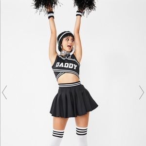 Daddy cheerleader Halloween costume